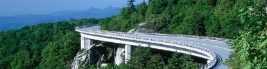 Linn Cove Viaduct on Blue Ridge Parkway, Courtesy of NC Division of Tourism, Film & Sports Development
