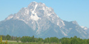 Mt. Moran in July