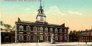 Drawing of Independence Hall