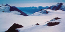 The Harding Icefield in Kenai Fjords National Park