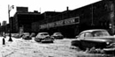 A flooded street in 1952