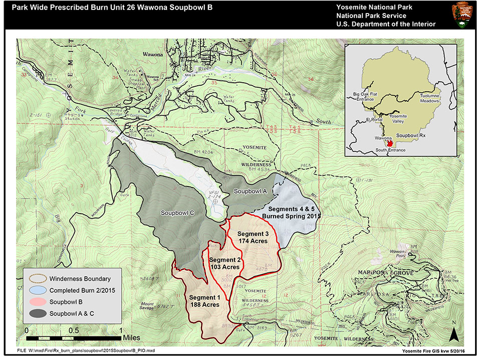 Fire Map Yosemite.Soupbowl Prescribed Fire June 11 2017 Yosemite National Park