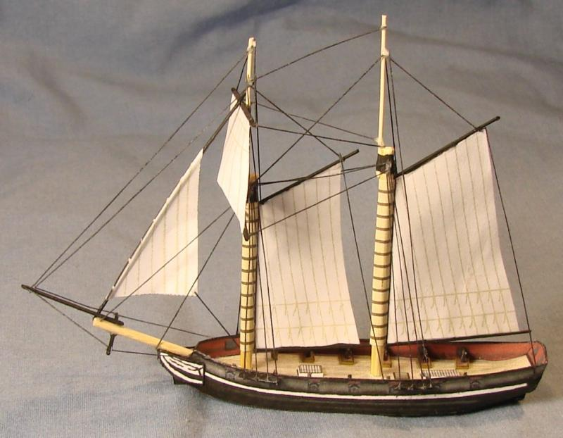 A Miniature of the USS Ariel (A Miniature).