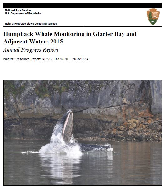title page for 2015 whale report