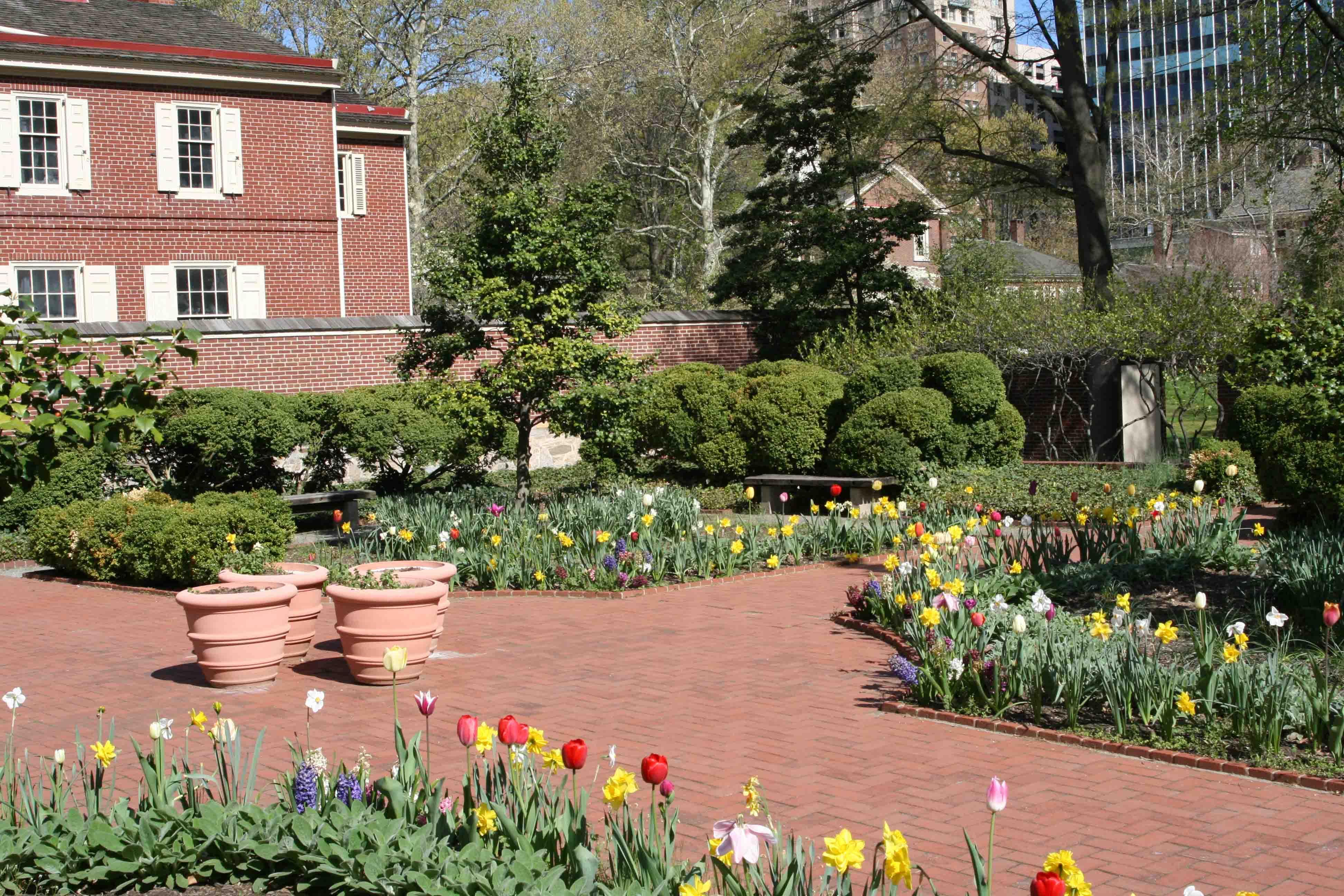 Benjamin Rush Garden   Independence National Historical Park (U.S. National  Park Service)
