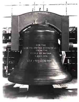 Bicentennial Bell - Gift From The People Of Britain