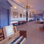 Long gallery of Independence Hall