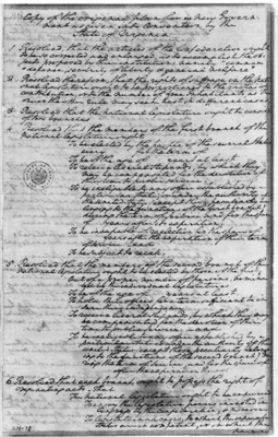 a history of the virginia plan in 1787 United states constitution:  1787  virginia delegates to congress, may 1787, copy of plan for new government in convention by the state of virginia.