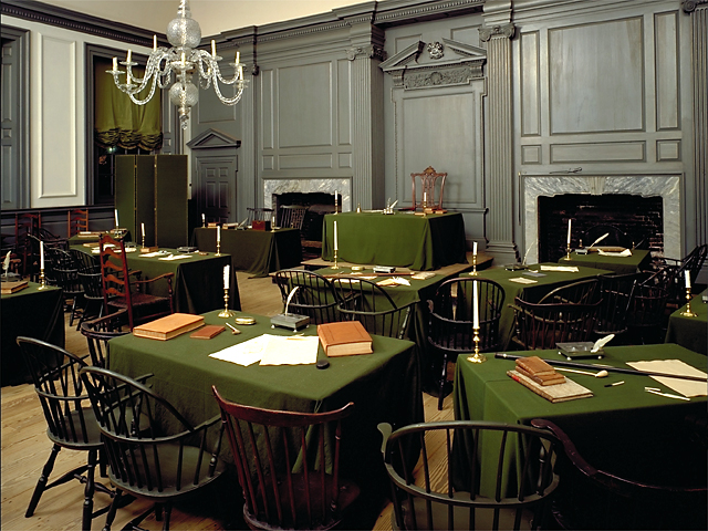 assembly room of Independence Hall