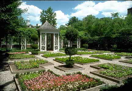 Horticulture and design at independence national for Garden design 18th century