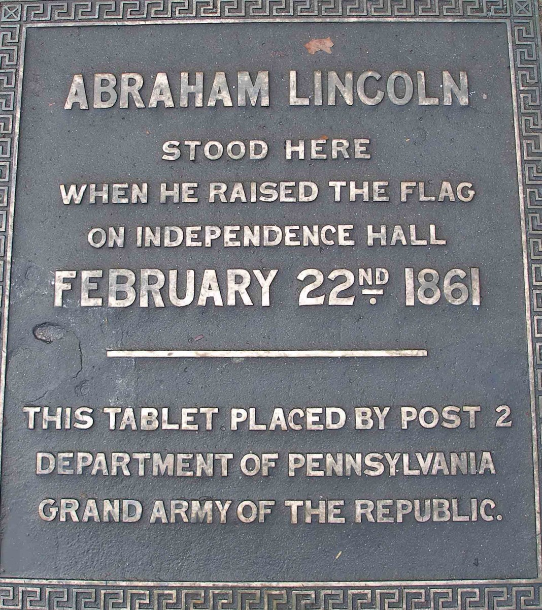 Dedication to Abraham Lincoln