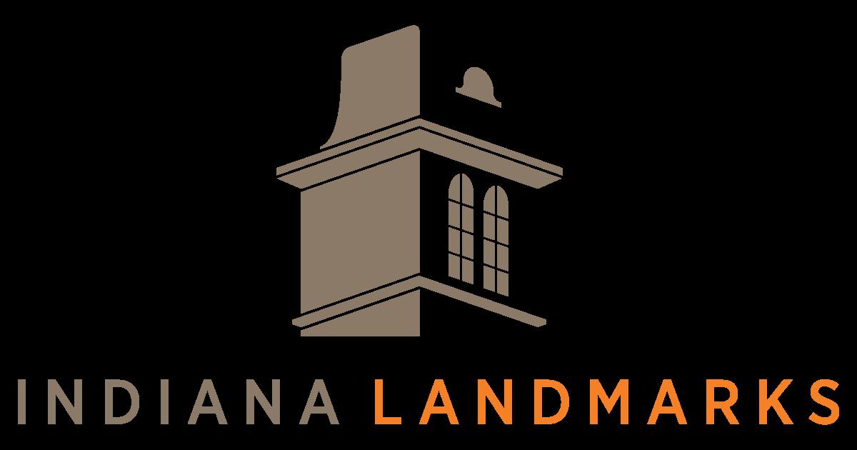 Indiana Landmarks Logo