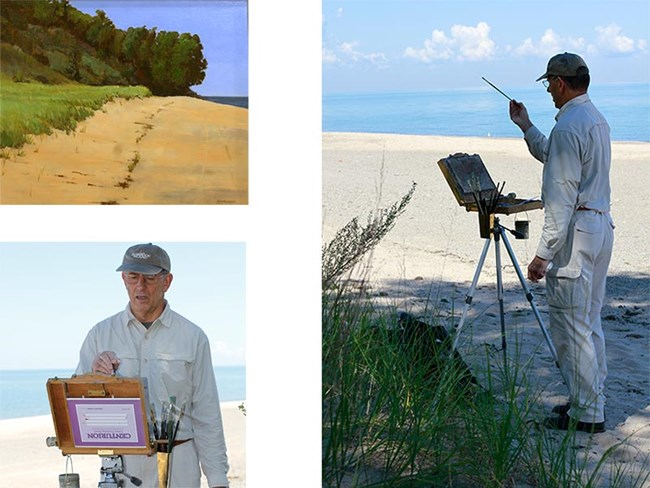 2012 Artist-in-residence Dan Mcgrath