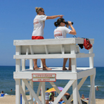 Lifeguards At West Beach