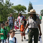 Ranger With Children