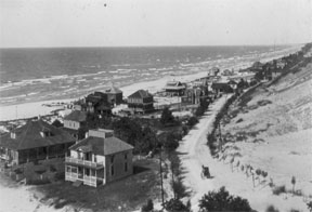 Sheridan Beach as it was in 1911