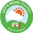 Let's Move Sticker