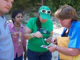 Northwest Indiana/Chicagoland teachers learn about citizen science program at Great Lakes Institute