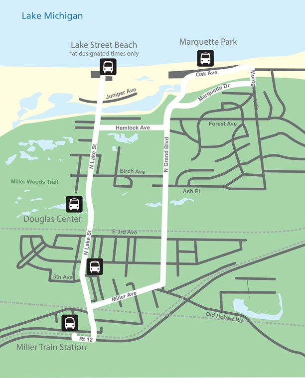 Free Beach Shuttle Bus - Indiana Dunes National Park (U.S. National ...