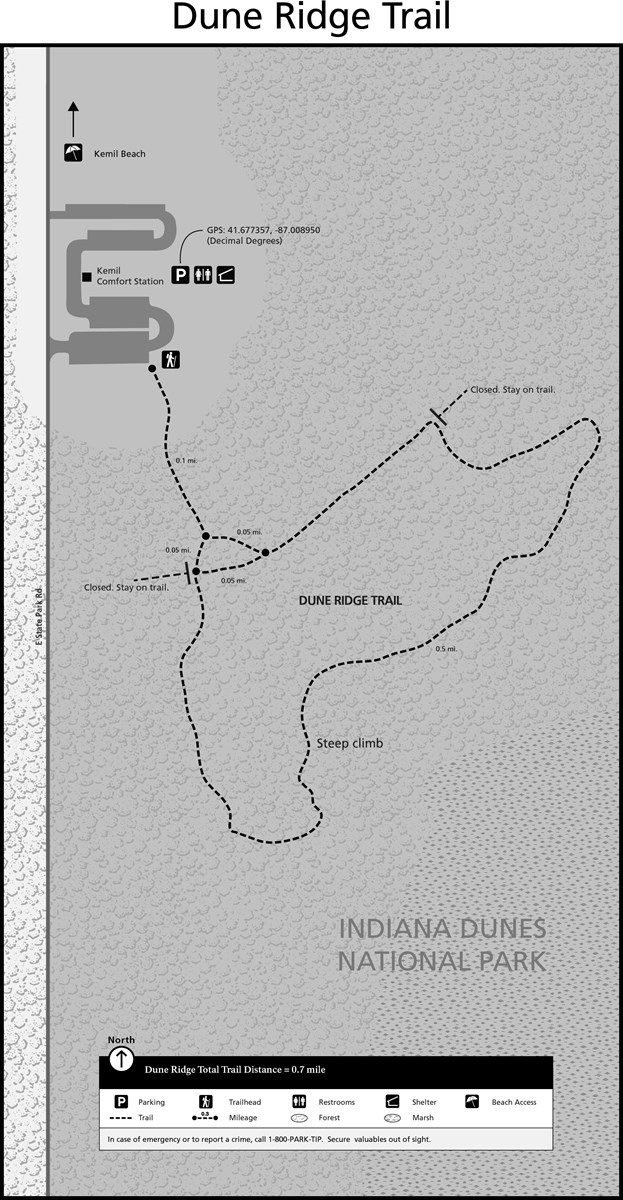 Dune Ridge Trail Map