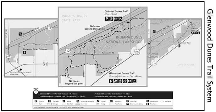 Glenwood Dunes Trail System - Indiana Dunes National Park ... on lincoln state park trail map, chain o lakes state park trail map, yellowwood state forest trail map, fort harrison state park trail map, southern indiana state parks map, indiana state park wedding venues, indiana dunes bike trail map, harmonie state park trail map, versailles state park trail map, peninsula state park trail map, mounds state park trail map, ouabache state park trail map, brown county state park trail map, clifty falls state park trail map, dunes kankakee trail map, potato creek state park trail map, tippecanoe river state park trail map, dune park station map, indiana state map with counties and cities, prophetstown state park trail map,