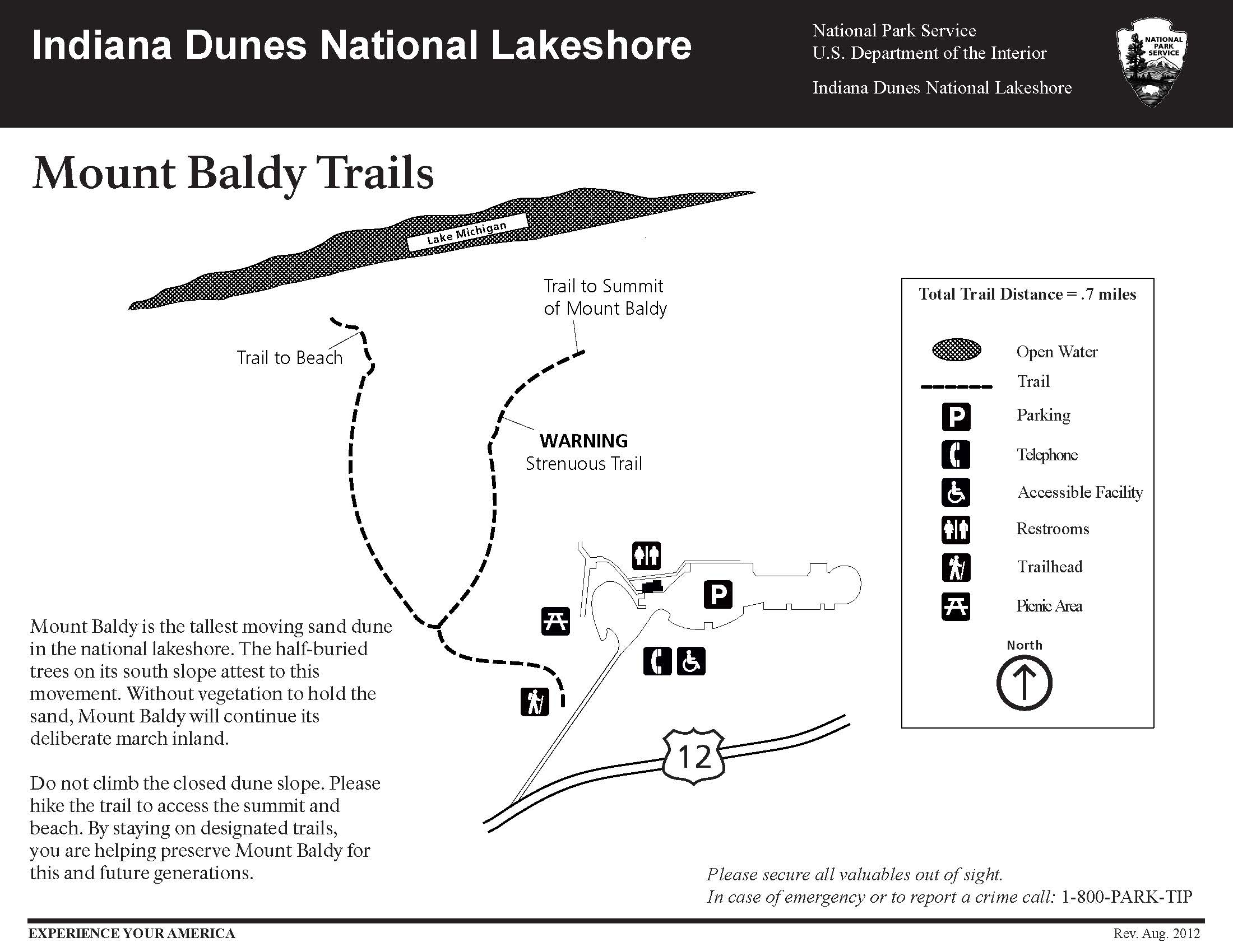 Pages from Mount Baldy Trail Map resize