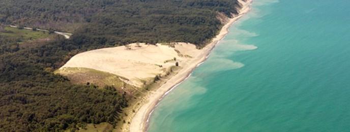 Mount Baldy Beach Indiana Dunes National Lakeshore U S