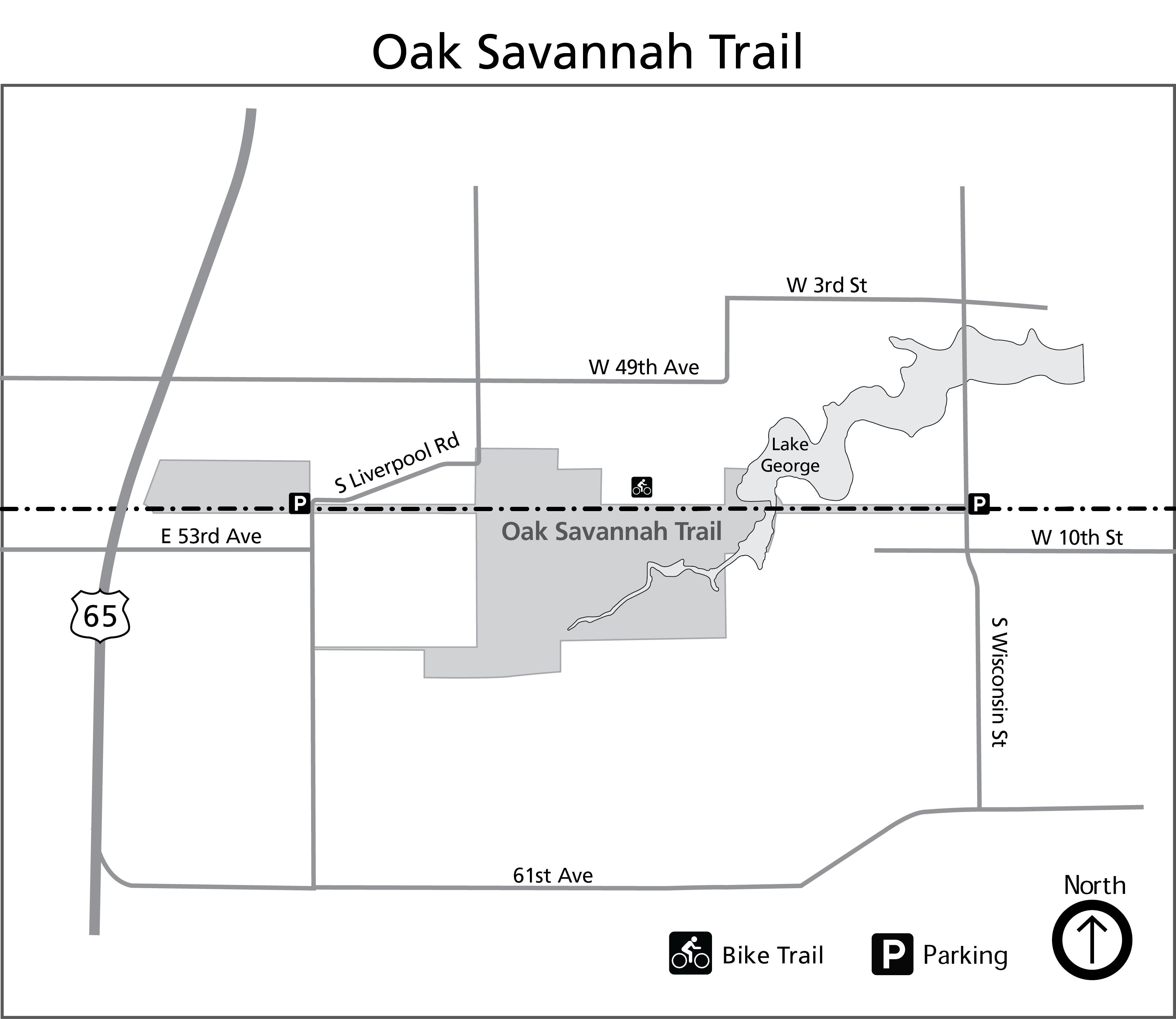 Oak Savannah Trail - Indiana Dunes National Park (U S