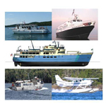 Five different services provide transporation to Isle Royale National Park.