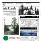 Selection of brochures for Isle Royale National Park
