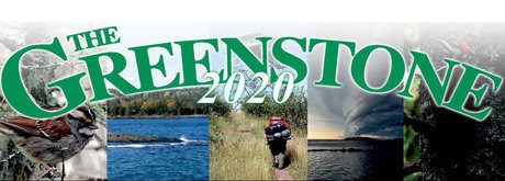 "A collection of images with the words ""Greenstone 2020"" in the front."
