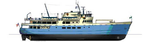 A graphic representation of the Ranger III.
