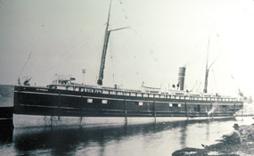 Algoma at dock