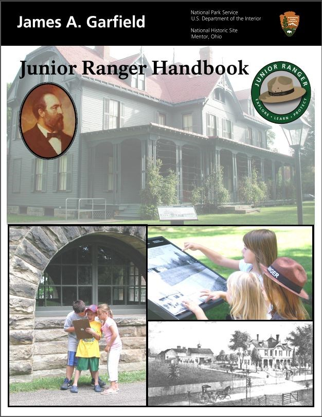 Junior Ranger book cover
