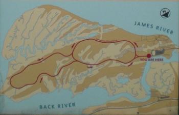 island loop drive historic jamestowne part of colonial