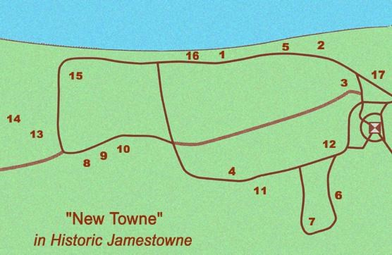 More Than a Fort: Historic Jamestowne\'s New Towne - Historic ...