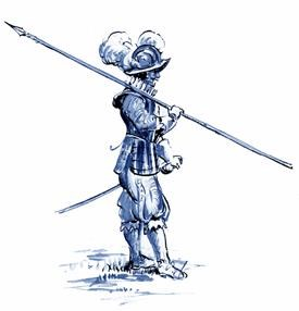 17th Century Pikeman