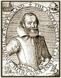 17th Century engraving of John Smith