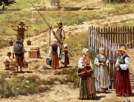 what was one of the first major problems in jamestown