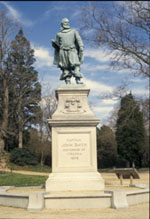 Captain John Smith statue at Historic Jamestowne.