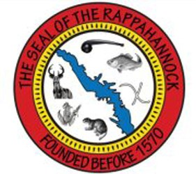 Rappahannock Tribal seal as seen on their website.