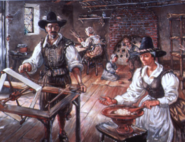 the role of women in 17th century new england The following is an overview of important events in 17th century massachusetts: captain john smith explores new england: the roles of women in the revolutionary.