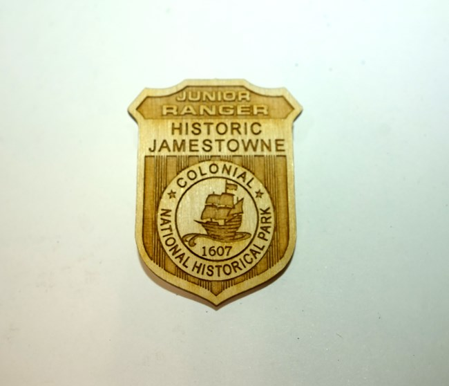 Historic Jamestowne Junior Ranger Badge