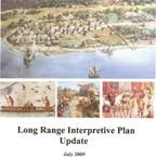 Title page to Jamestowns Long Range Interpretive Plan