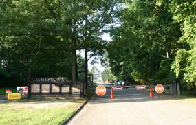 Historic Jamestowne Entrance Gate