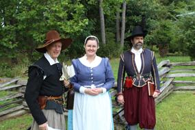First Assembly Living History Characters