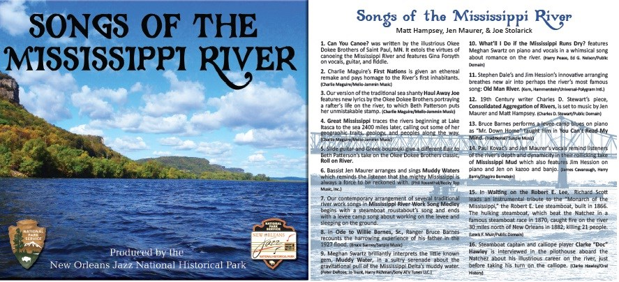 Songs of the Mississippi River - New Orleans Jazz National