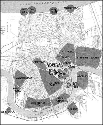 new orleans jazz neighborhoods