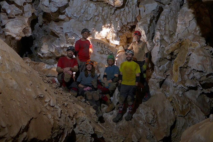 Cave explorers mapped the 200th mile in Jewel Cave.