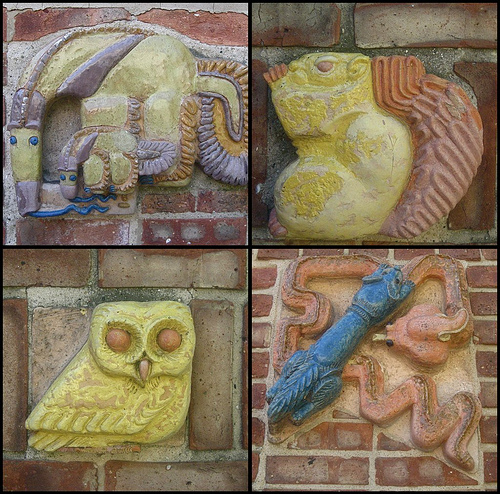 Crow Island School Tiles by chicagogeek